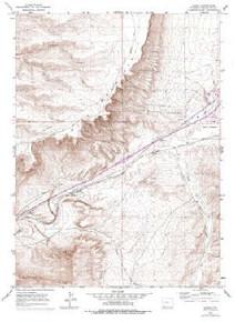 7.5' Topo Map of the Kanda, WY Quadrangle