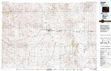 USGS 30' x 60' Metric Topographic Map of Gillette, WY Quadrangle