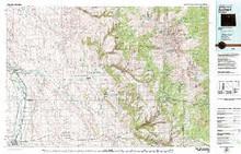 USGS 30' x 60' Metric Topographic Map of Worland, WY Quadrangle
