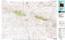 USGS 30' x 60' Metric Topographic Map of Bairoil, WY Quadrangle