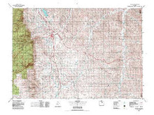 USGS 30' x 60' Metric Topographic Map of Buffalo, WY Quadrangle