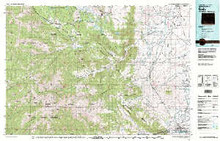 USGS 30' x 60' Metric Topographic Map of Cody, WY Quadrangle
