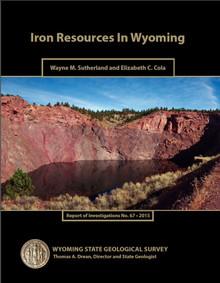 Iron Resources in Wyoming (2015)