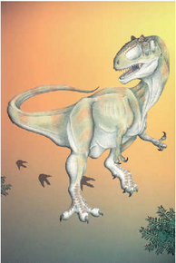 10 Pack - Allosaurus (postcard) (2005)