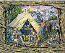 10 Pack - Field Camp (postcard) (2001)