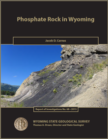 Phosphate Rock in Wyoming (2015)