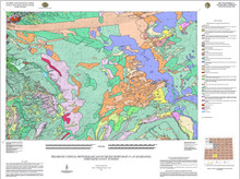 Preliminary Surficial Photogeologic Map of the Red Desert Basin 30' x 60' Quadrangle, Sweetwater County, Wyoming (2015)