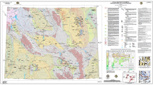 Coal Map of Wyoming: With Energy Production and Transportation (2011)