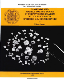 Diamonds and Mantle Source Rocks in the Wyoming Craton with a Discussion of other U.S. Occurrences (1998)