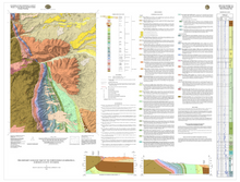 Preliminary Geologic Map of the North Ridge Quadrangle, Johnson County, Wyoming (2014)