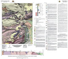 Preliminary Geologic Map of the Centennial Quadrangle, Albany County, Wyoming (2013)