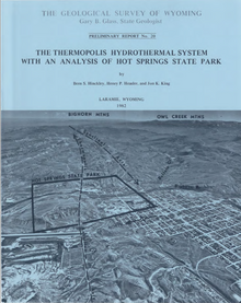 The Thermopolis Hydrothermal System with an Analysis of Hot Springs State Park (1982)