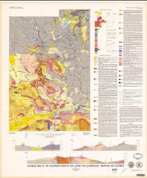 Geologic map of the southwest part of the Cooke City Quadrangle, Montana on contour map of montana, city map of wisc, city map of northern michigan, city map of western usa, transportation of montana, city map of great falls, city map of northern kentucky, city map of oakland, city map of jamaica plain, city map of dillingham, city map of jamestown, city map of northern minnesota, city map of eastern nc, bing map of montana, city map of appalachian mountains, city map of eastern tennessee, city map of southern florida, city map of texas, city map of the carolinas, city map of iowa city,