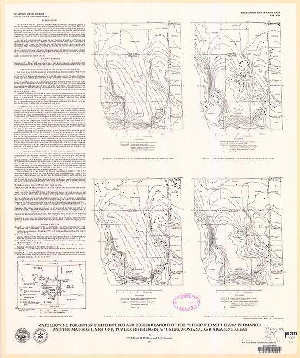 Madison River Montana Map.Maps Showing Formation Temperatures And Configurations Of The Tops