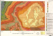 Geologic map of the Kinney Rim 30 x 60 minute Quadrangle, Wyoming and Colorado