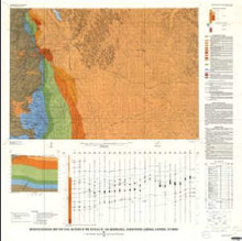 Bedrock Geologic Map and Coal Sections in the Buffalo 30' x 60' Quadrangle, Johnson and Campbell counties, Wyoming
