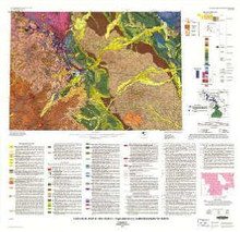 Geologic map of the Cody 1° by 2° Quadrangle, northwestern Wyoming