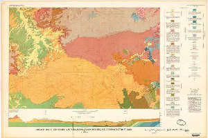 Geologic Map Of The Shirley Basin Area Albany Carbon Converse