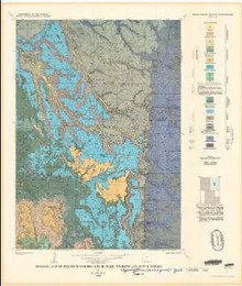 Geologic map of the Four Corners Quadrangle, Wyoming and South Dakota