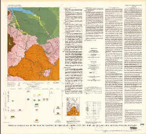 Surficial Geologic Map Of The West Yellowstone Quadrangle Yellowstone National Park And Adjoining Area Montana Wyoming And Idaho