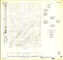 Geology of the NE 1/4 of the Essex Mountain Quadrangle, Sweetwater County, Wyoming