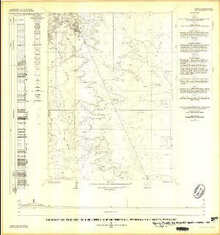 Geology of the NE 1/4 of Freighter Gap Quadrangle, Sweetwater County, Wyoming