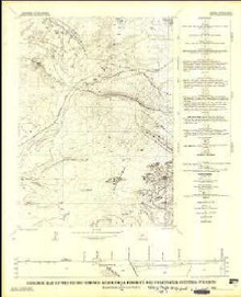 Geologic Map of the Pacific Springs Quadrangle, Fremont and Sweetwater Counties, Wyoming