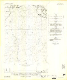 Geologic Map of the Parting of the Ways Quadrangle, Sublette and Sweetwater Counties, Wyoming
