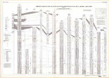 Stratigraphic Diagrams with Electric Logs of Upper Cretaceous Rocks, Powder River Basin, Natrona, Converse, and Niobrara Counties, Wyoming, Section C-C'
