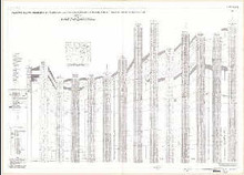 Stratigraphic Diagrams with Electric Logs of Upper Cretaceous Rocks, Powder River Basin, Sheridan, Johnson, Campbell, and Converse Counties, Wyoming, Section D-D'
