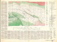 Geology of the East Thermopolis Area, Hot Springs and Washakie Counties, Wyoming