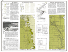 Campbell County, Wyoming: Geologic Map Atlas and Summary of Land, Water and Mineral Resources (1974)