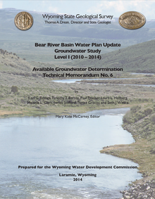 Bear River Basin Water Plan Update, Groundwater Study, Level I (2010–2014): Available Groundwater Determination (2014)