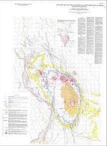 Tectonic Map of the Black Hills Uplift, Montana, Wyoming and South Dakota (1985)