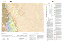 Geologic Map of the Buffalo 30' x 60' Quadrangle, Johnson and Campbell Counties, Wyoming (2002)
