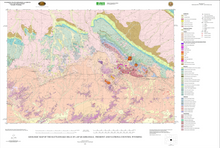 Geologic Map of the Rattlesnake Hills 30' x 60' Quadrangle, Fremont and Natrona Counties, Wyoming (2003)