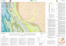 Geologic Map of the Kaycee 30' x 60' Quadrangle, Johnson and Campbell Counties, Wyoming (2003)