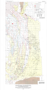 Tectonic Map of the Overthrust Belt, Western Wyoming, Northwestern Utah, and Southeastern Idaho: Showing Oil and Gas Fields and Exploratory Wells in the Overthrust Belt and Adjacent Green River Basin (1987)