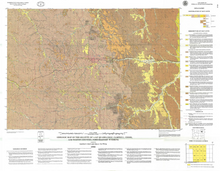 Geologic Map of the Gillette 30' x 60' Quadrangle, Campbell, Crook, and Weston Counties, Wyoming (1998)