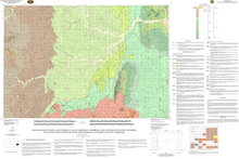 Geologic Map of the Lance Creek 30' x 60' Quadrangle, Niobrara and Converse Counties, Wyoming, Fall River and Custer Counties, South Dakota, and Sioux County, Nebraska (2008)