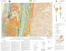 Geologic Map of the Kemmerer 30' x 60' Quadrangle, Lincoln, Uinta, and Sweetwater Counties, Wyoming (wsgs) (2004)