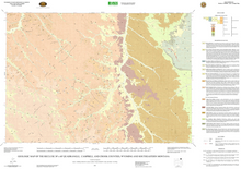 Geologic Map of the Recluse 30' x 60' Quadrangle, Campbell and Crook Counties, Wyoming, and Southeastern Montana (2002)