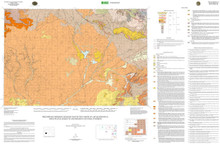 Preliminary Bedrock Geologic Map of the Farson 30' x 60' Quadrangle, Sweetwater, Sublette and Fremont Counties, Wyoming (2011)