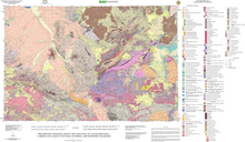 Preliminary Geologic Map of the Saratoga 30' x 60' Quadrangle, Carbon and Albany Counties, Wyoming (2004)
