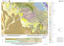Preliminary Geologic Map of the Pinedale 30' x 60' Quadrangle, Sublette and Fremont Counties, Wyoming (2009)