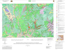 Preliminary Surficial Geologic Map of the Baggs 30' x 60' Quadrangle, Carbon and Sweetwater Counties, Wyoming, and Moffat and Routt Counties, Colorado (2006)