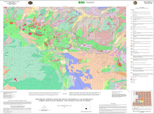 Preliminary Surficial Geologic Map of the Bairoil 30' x 60' Quadrangle, Carbon, Sweetwater, Fremont, and Natrona Counties, Wyoming (2011)