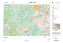 Preliminary Surfical Geologic Map of the Bill 30' x 60' Quadrangle, Converse, Campbell and Weston Counties, Wyoming (2003)