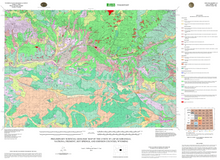 Preliminary Surficial Geologic Map of the Lysite 30' x 60' Quadrangle, Natrona, Fremont, Hot Springs, and Johnson Counties, Wyoming (2011)