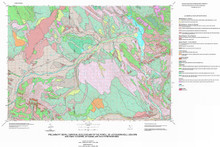 Preliminary Surficial Geologic Map of the Powell 30' x 60' Quadrangle, Bighorn [sic] and Park Counties, Wyoming, and Southern Montana (1999)